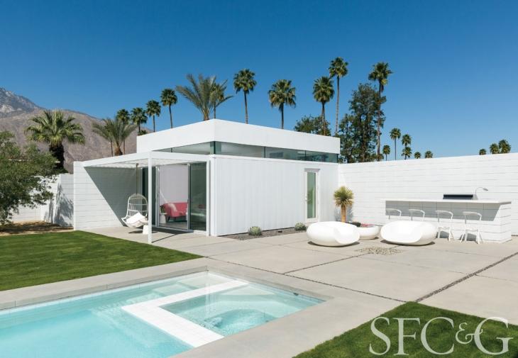 Inside Designer Martha Angus's Palm Springs Getaway